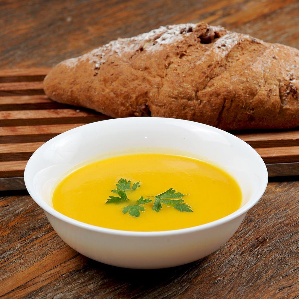 Sopa de Cenoura ao Gengibre e Requeijão - 168kcal  - 350g