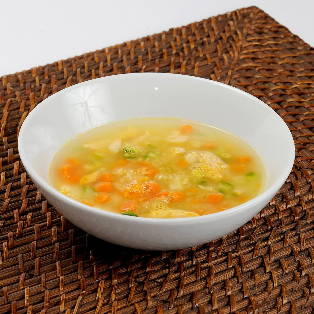 Sopa de Quinoa com Frango (172 kcal) 350g