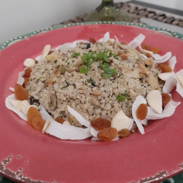 Couscous de Quinoa com Mix de Sementes 800g