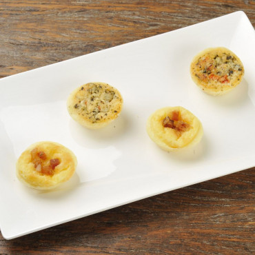 Mini Quiches Variados 20 unidades