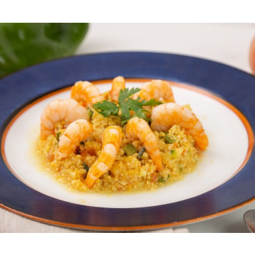 Risoto de Quinoa Com Camarão - 336kcal - 280g LOW CARB
