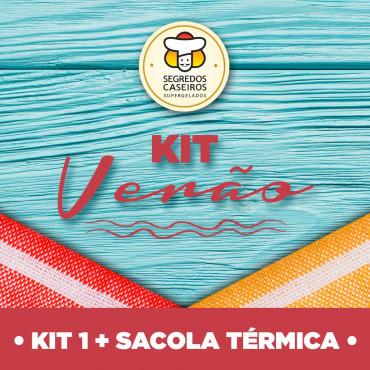 Kit 1 * 8 Pratos + Sacola Térmica