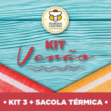 Kit 3 * 8 Pratos + Sacola Térmica
