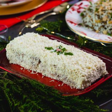 Torta Fria de Palmito e Peru